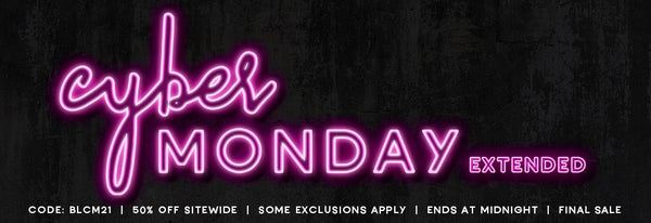 Cyber Monday EXTENDED!