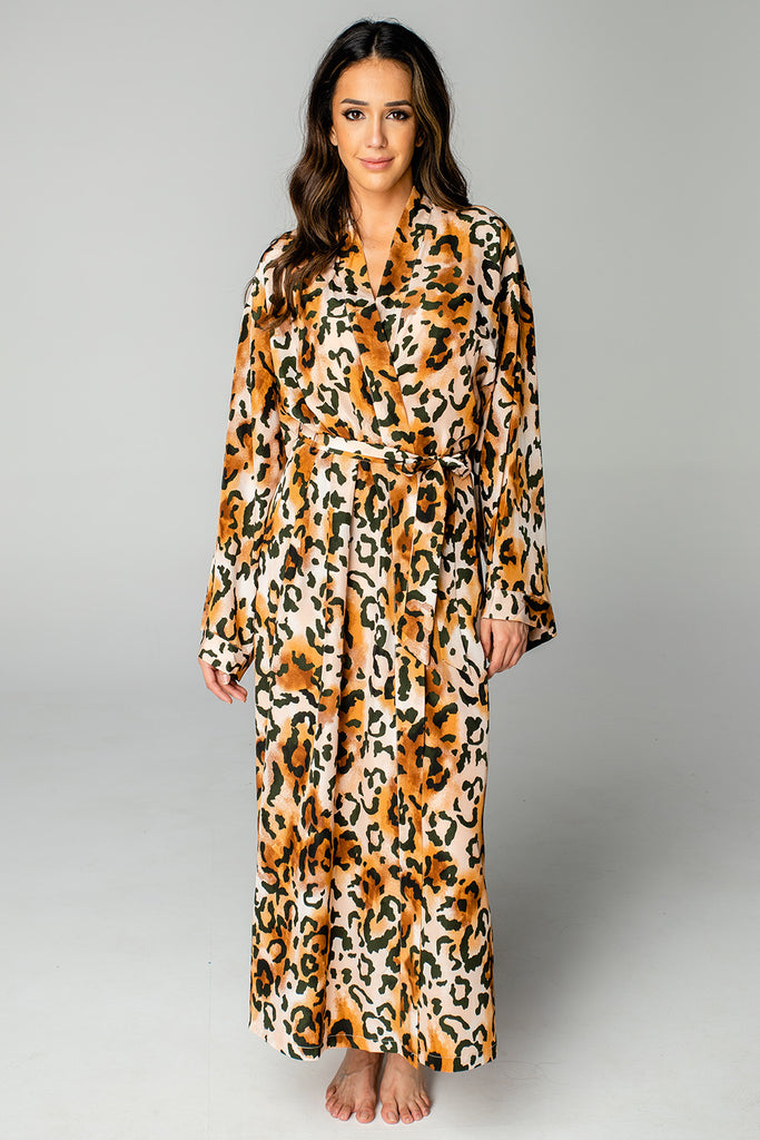 BuddyLove Romee Long Robe - Lioness