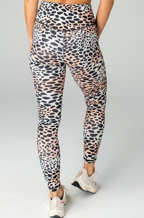 BuddyLove Michaels High-Rise Waist Leggings - Cheetah