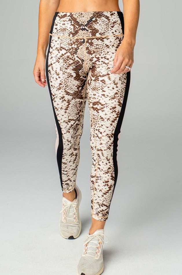 BuddyLove Olivia High-Rise Waist Leggings - Slither