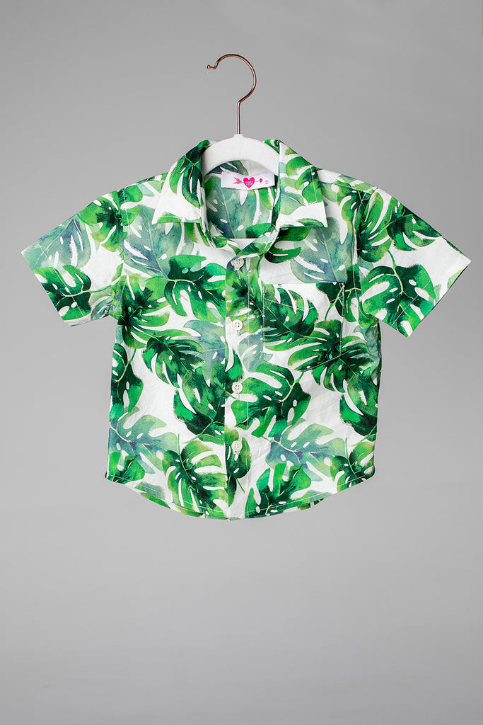 BuddyLove Nash Boy's Button Down Shirt - Maui