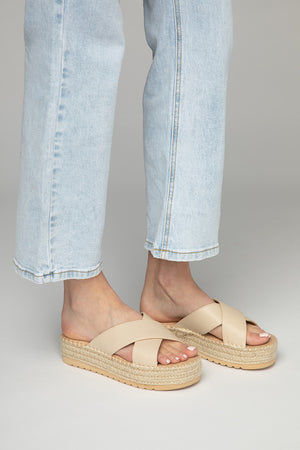 Cove Sandal - Natural