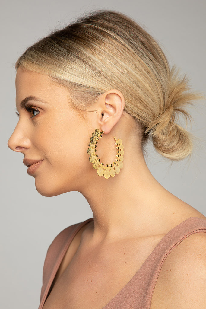 BuddyLove Vida Earrings - Gold