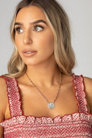 BuddyLove Beverly Coin Necklace - Gold
