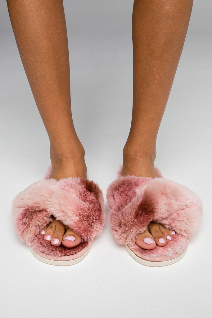 Stowe Slippers - Blush