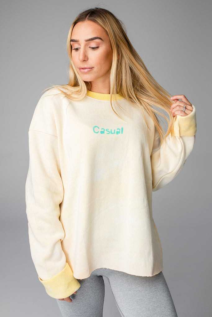 Casual Sweatshirt - Sunburst
