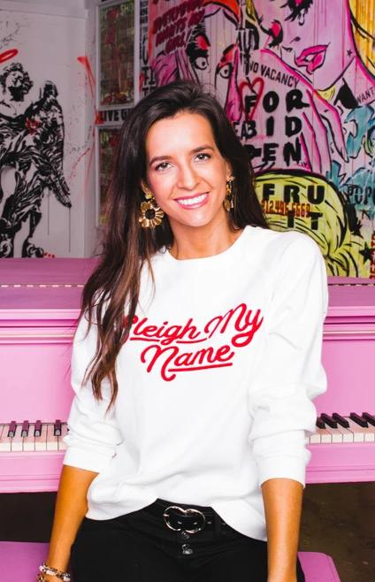 BuddyLove Keith Graphic Sweater - Sleigh My Name
