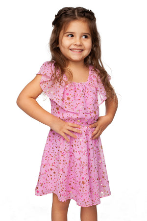 Girls Toddler Pink Dress
