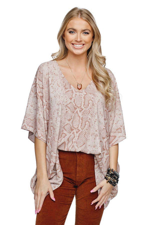 BuddyLove North Tunic Flowy Top - Sahara - Buddy Love Clothing Label
