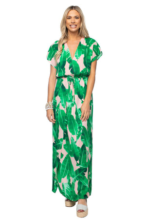 BuddyLove Natalie Short Sleeved Maxi Dress - Key West