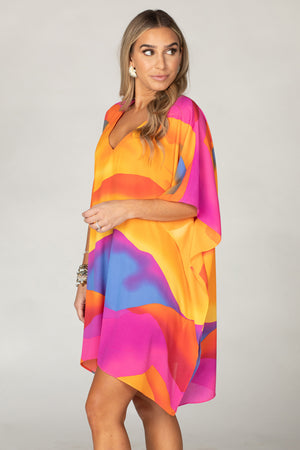 BuddyLove Pina Colada Tunic Dress - Sunset