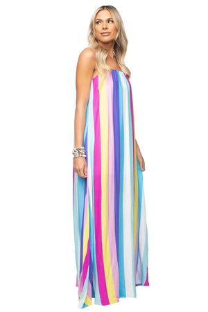 BuddyLove Misha Sleeveless Maxi Dress - Carnival