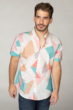 BuddyLove Robert Button Down Dress Shirt - Origami