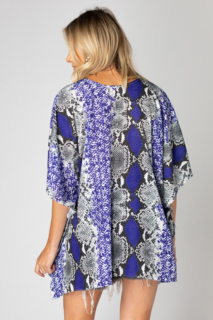 BuddyLove North Tunic - Purple Boa