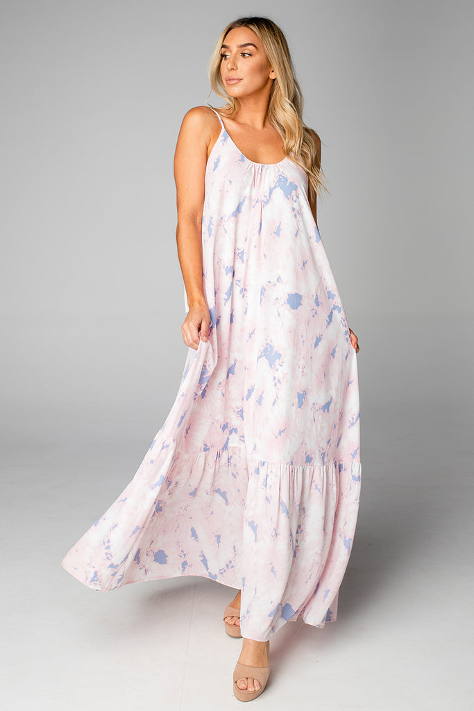 BuddyLove Katey Scooped Neck Maxi Dress - Wisteria