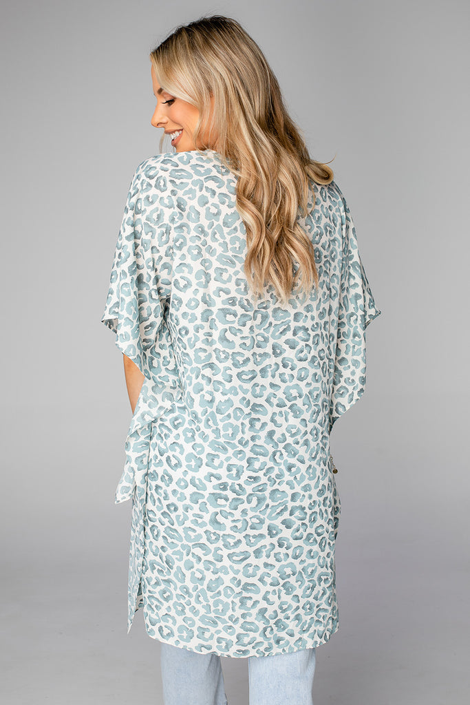 BuddyLove Winnie High-Low Tunic - Sea Lion