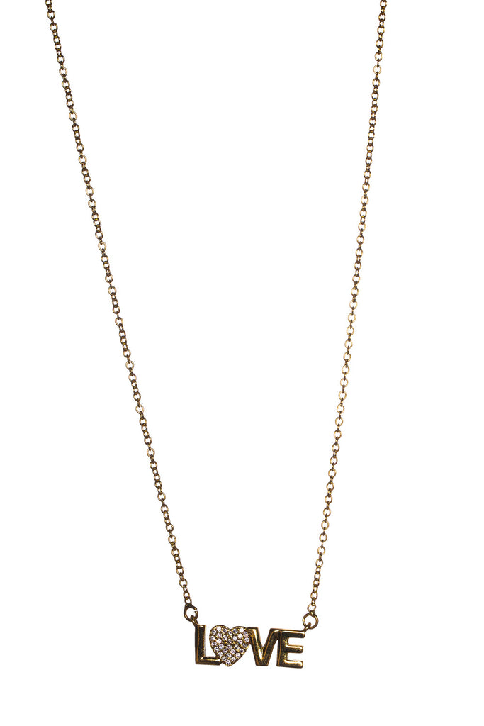 BuddyLove Claire Necklace - Gold