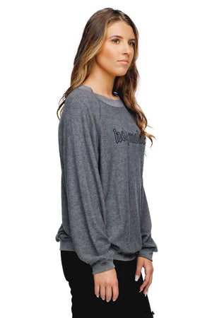 BuddyLove Cody Graphic Loose Fit Sweater - Holy Smokes