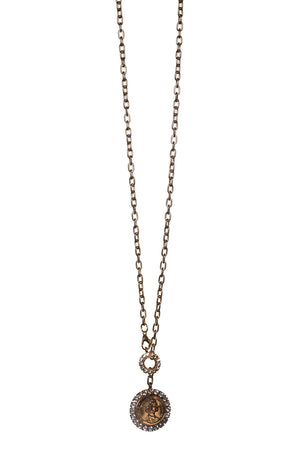BuddyLove Coin Necklace - Gold