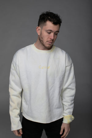 BuddyLove X Casual Graphic Sweater - Lemon Drop
