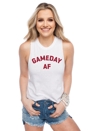 BuddyLove Dave Gameday AF Tank Top - Red