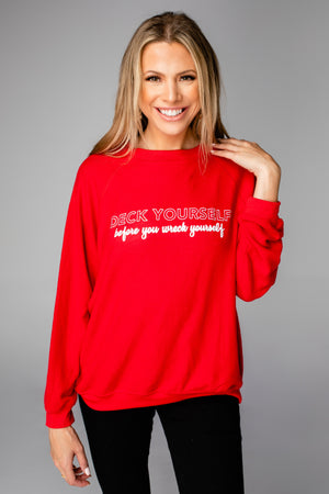 BuddyLove Gene Graphic Sweatshirt - Deck Yourself