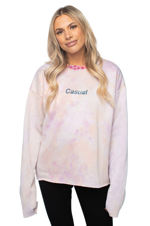BuddyLove X Casual Graphic Sweater - Galaxy