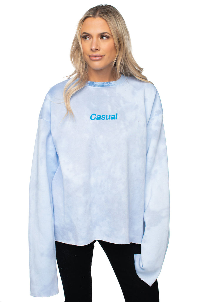 BuddyLove X Casual Graphic Sweater - Glacier