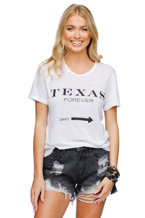 BuddyLove Harrison Graphic Vintage Tee - Texas Forever - Buddy Love Clothing Label