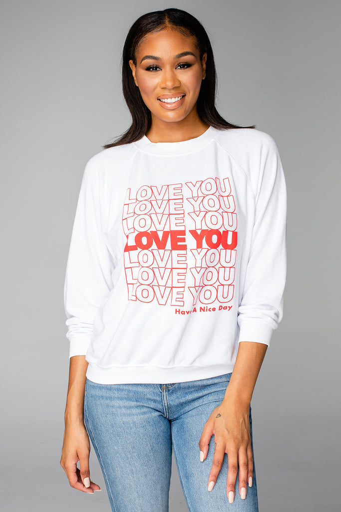 BuddyLove Keith Graphic Sweatshirt - Have a Nice Day