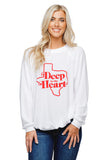 BuddyLove Keith Graphic Loose Fit Sweater - Deep in the Heart