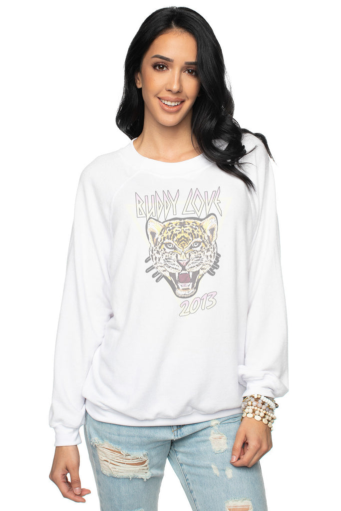 Women's Loose Fit Long Sleeves Tiger