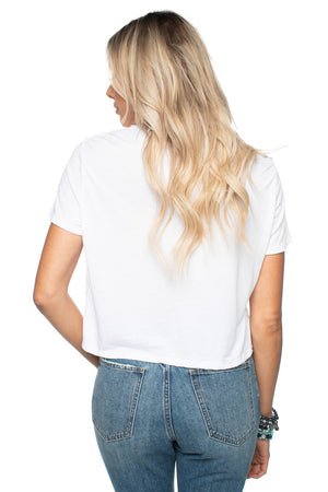 BuddyLove Kliff Graphic Cropped Tee - Hey Y'all