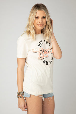 BuddyLove Klyde Graphic Tee - Hit the Booze Button