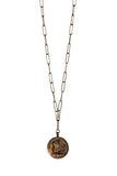BuddyLove Liam Coin Necklace - Gold