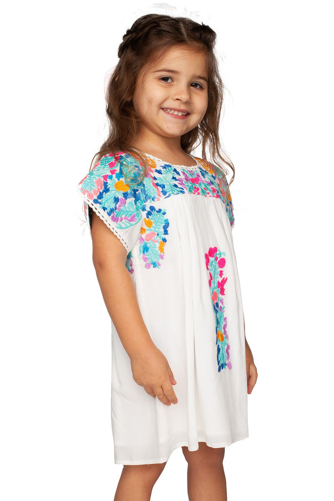 BuddyLove Lola Embroidery Dress - Pastel
