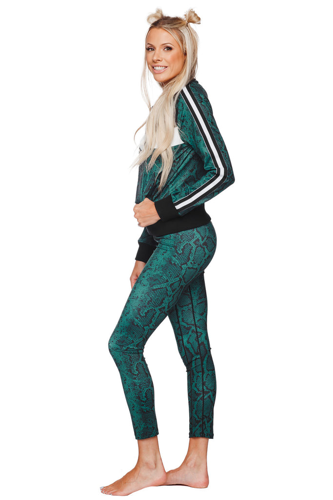 BuddyLove Micheals High-Waisted Legging - Forest - Buddy Love Clothing Label