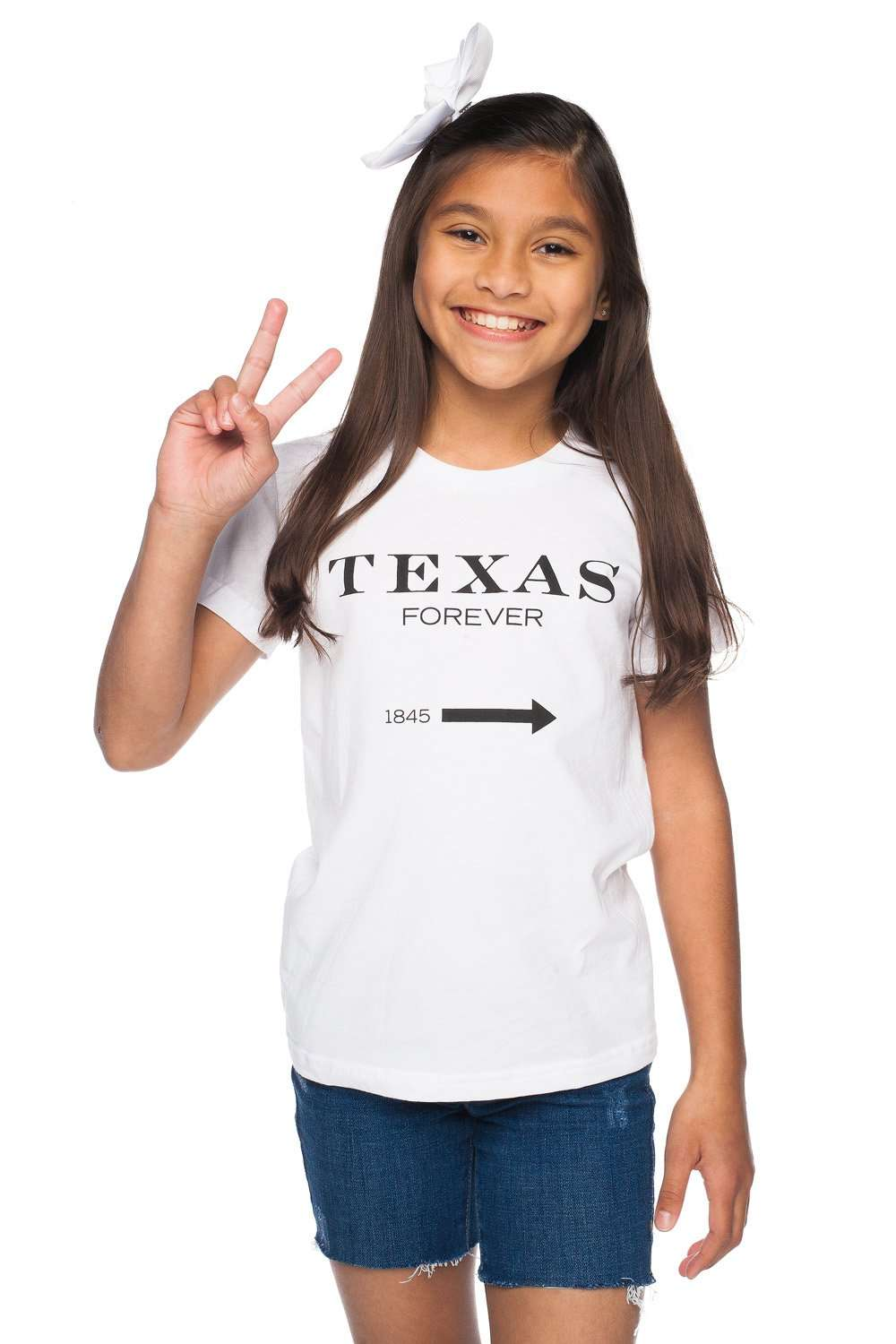 BuddyLove_Witten_Youth_Tee__Texas_Forever__Youth_Small_WhiteBlack