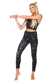 BuddyLove Micheals High-Waisted Legging - Rainbow Star - Buddy Love Clothing Label
