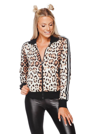 BuddyLove Vonn Long Sleeved Zip Women's Jacket - Animal