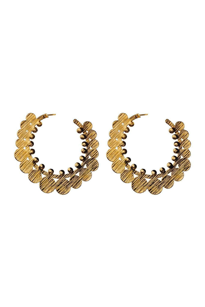 BuddyLove Vida Earrings - Gold,Gold