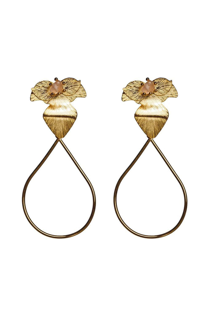 BuddyLove Hermosa - Earrings - Gold,Gold