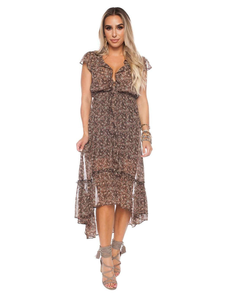 BuddyLove Gillian Maxi Dress - Ditzy - FINAL SALE - Buddy Love Clothing Label