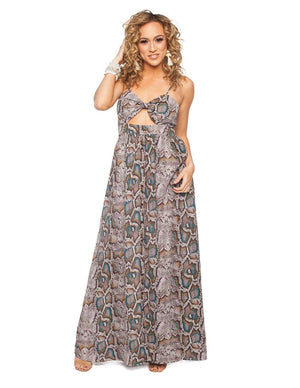 BuddyLove Cut Out Spaghetti Strap Maxi Dress - Mermaid - Buddy Love Clothing Label