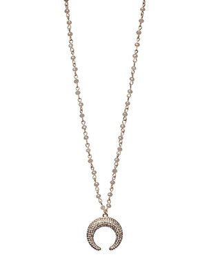 BuddyLove Blue Moon Necklace