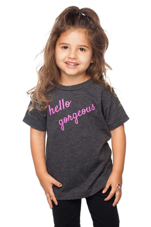 BuddyLove Gomez Heathered Grey Kids Graphic Tee - Hello Gorgeous