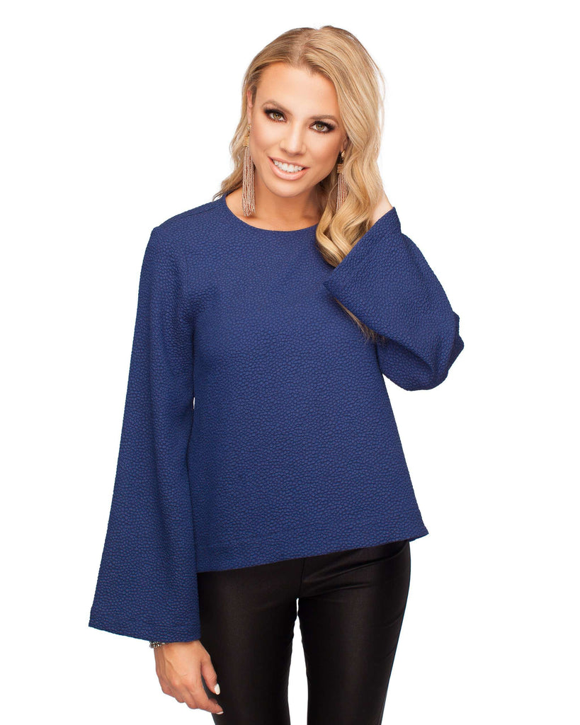 BuddyLove Bell Top- Navy - FINAL SALE - Buddy Love Clothing Label