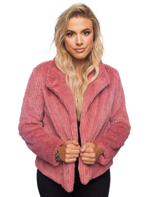 BuddyLove Grace Coat - Mauve - Buddy Love Clothing Label
