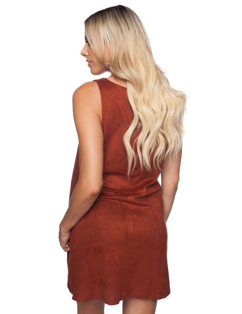BuddyLove Sally Dress - Rust - FINAL SALE - Buddy Love Clothing Label