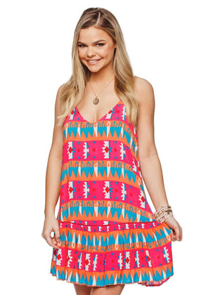 BuddyLove Sabine Dress - Santa Fe - FINAL SALE - Buddy Love Clothing Label